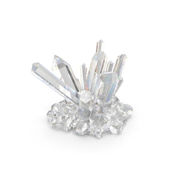 Clear Quartz Crystals PNG & PSD Images