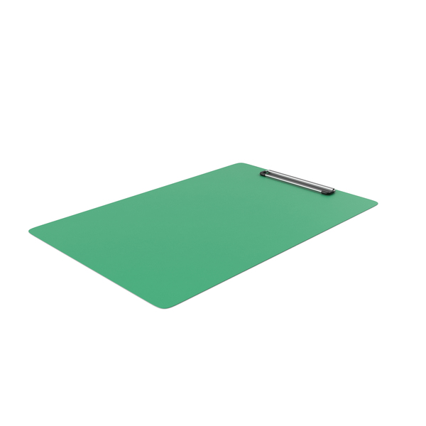 ClipBoard Green Empty PNG & PSD Images