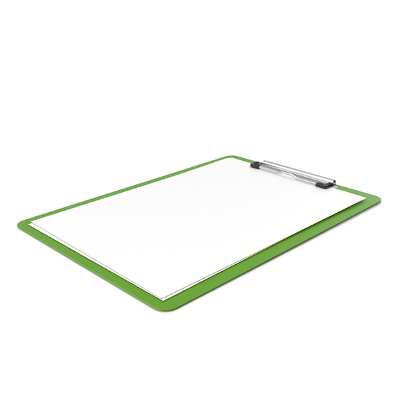Clipboard Green PNG & PSD Images