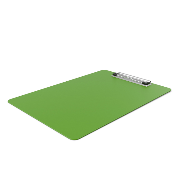Clipboard Side Green PNG & PSD Images