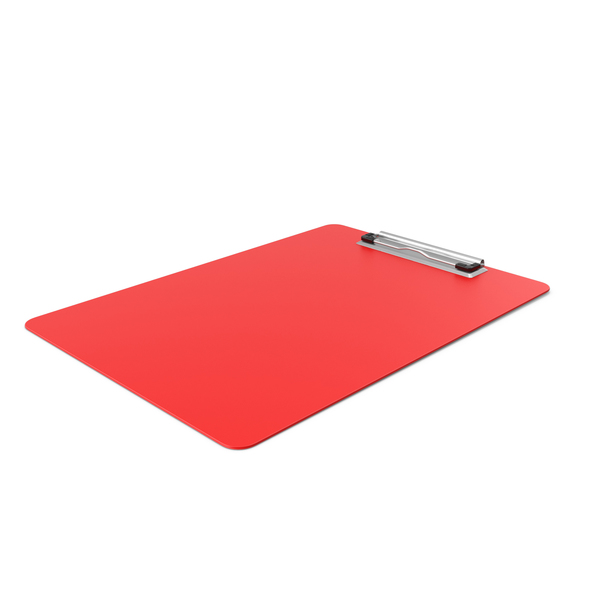 Clipboard Side Red PNG & PSD Images