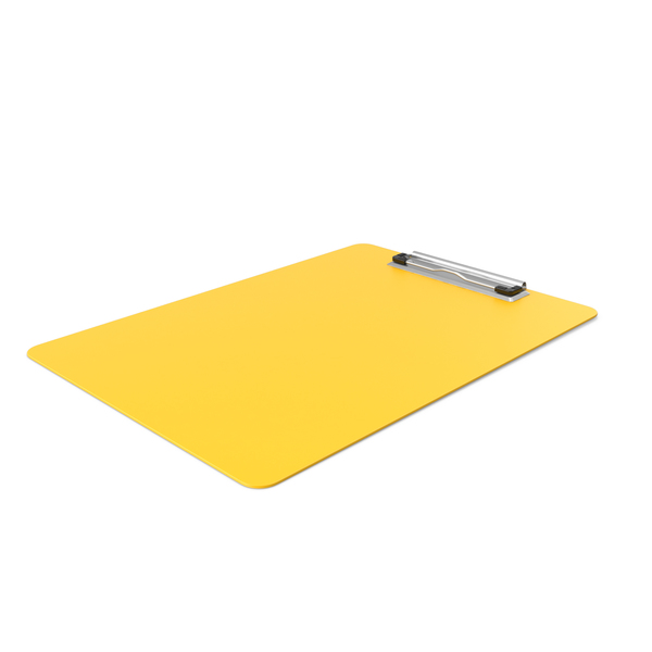 Clipboard Side Yellow PNG & PSD Images
