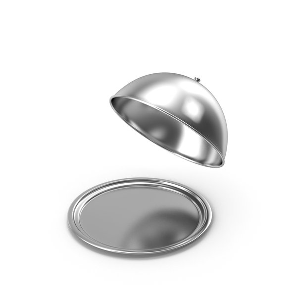 Food Lid: Cloche Open PNG & PSD Images