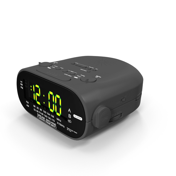Clock Radio PNG & PSD Images