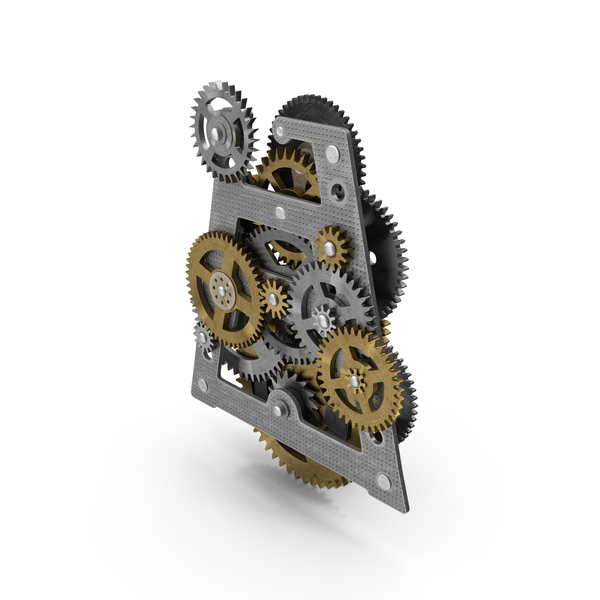 Clockwork Gears Mixed PNG & PSD Images