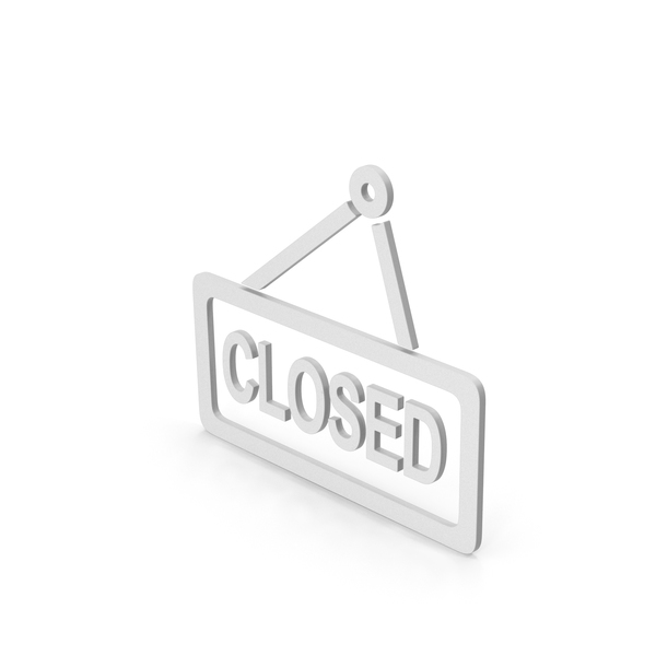 Sign: Closed Symbol PNG & PSD Images