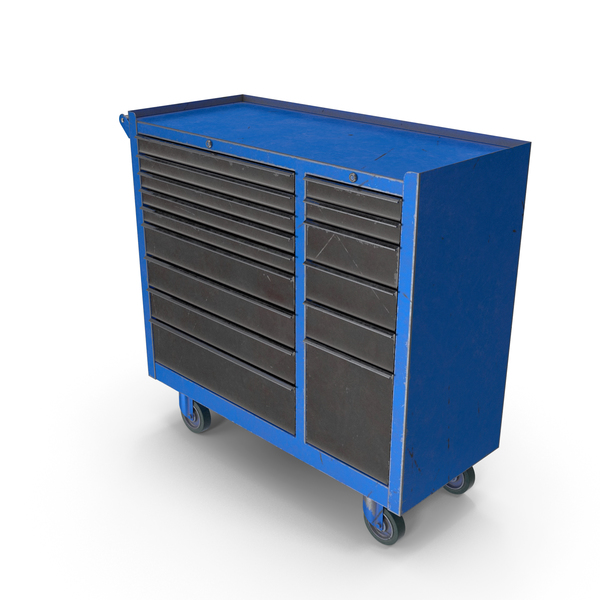 Closed Tool Box Blue PNG & PSD Images