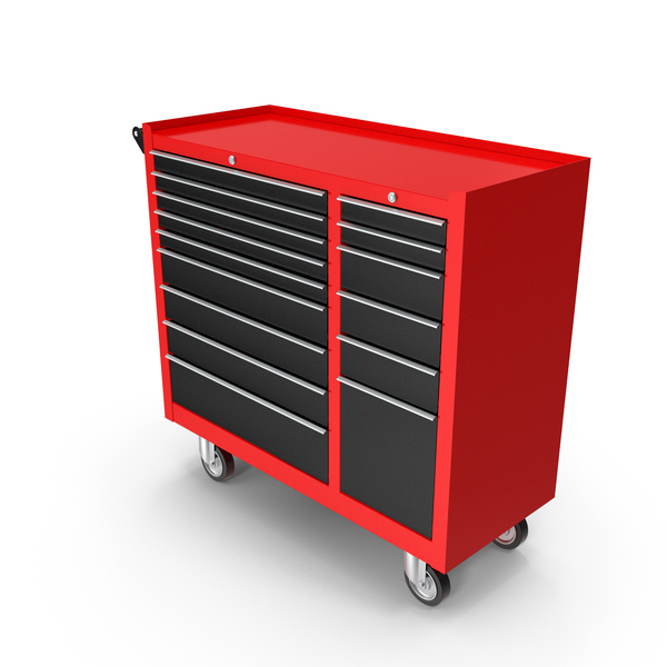 Closed Tool Box Red New PNG & PSD Images