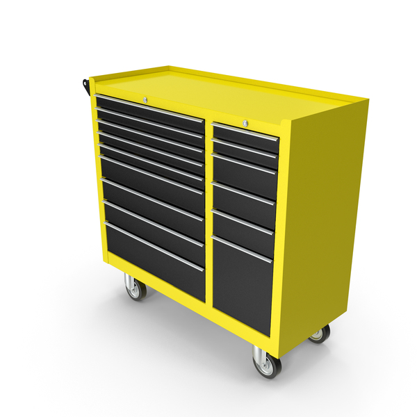 Closed Tool Box Yellow New PNG & PSD Images