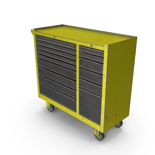 Closed Tool Box Yellow PNG & PSD Images