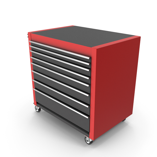 Roller: Closed Tool Cabinet PNG & PSD Images
