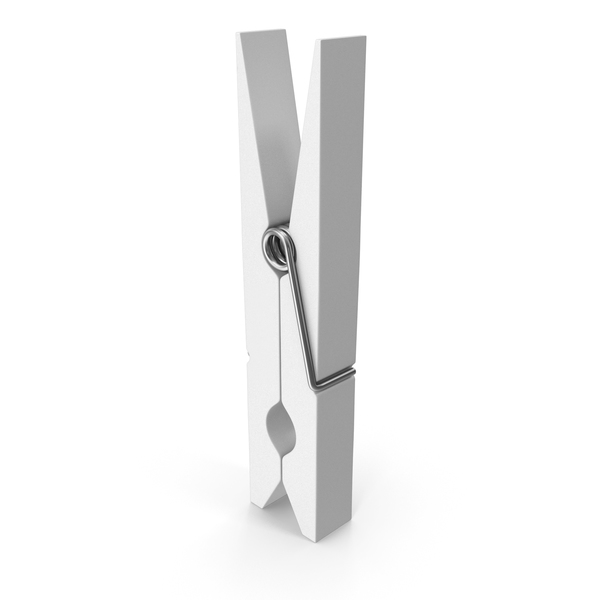 Clothespin White PNG & PSD Images