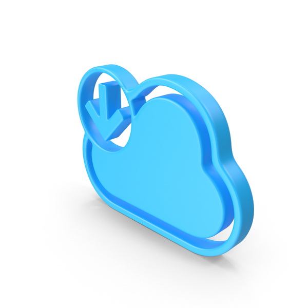 Cloud Download Web Icon PNG & PSD Images