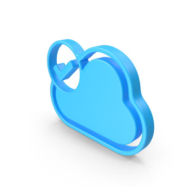 Cloud Downloaded Web Icon PNG & PSD Images