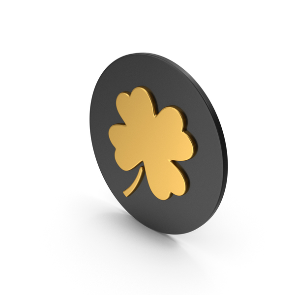 Clover Gold Icon PNG & PSD Images