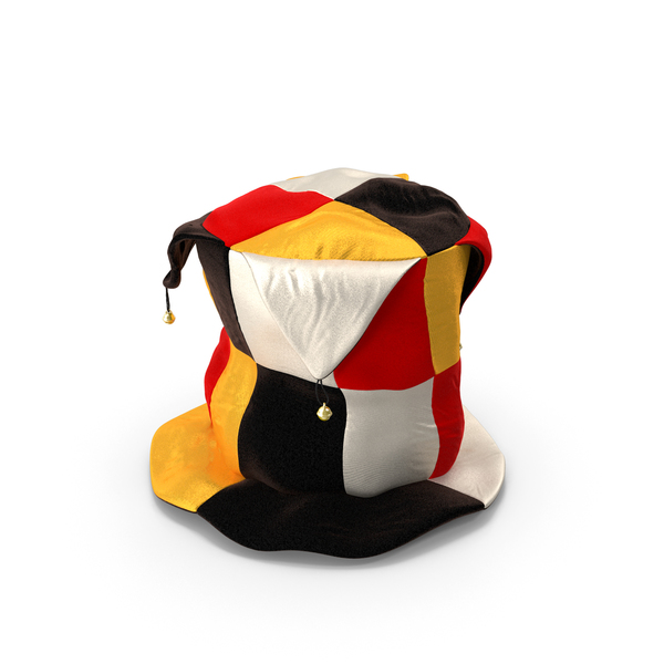 Clown Top Hat with Bells PNG & PSD Images