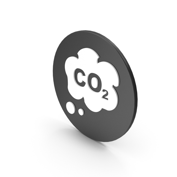 Caution: CO2 Icon PNG & PSD Images