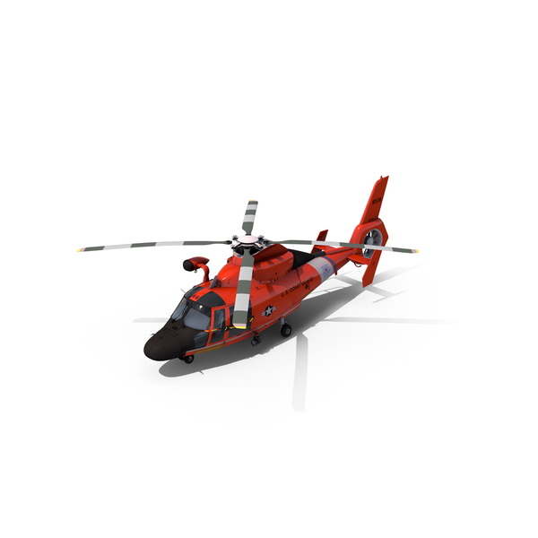 Coast Guard Helicopter Object