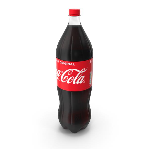 Coca Cola 2L Bottle PNG & PSD Images