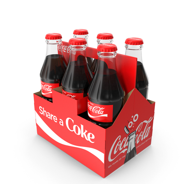Soda: Coca Cola Bottle Package PNG & PSD Images