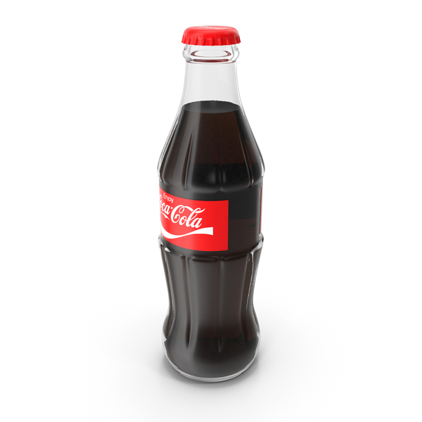 Soda: Coca Cola Glass Bottle PNG & PSD Images