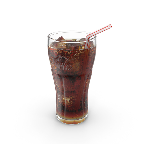 Soda: Coca Cola Glass PNG & PSD Images