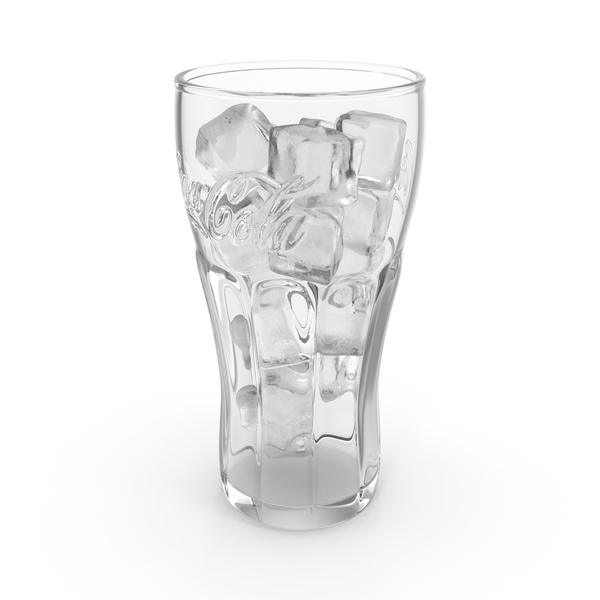 Soda Cup: Coca Cola Glass with Ice PNG & PSD Images