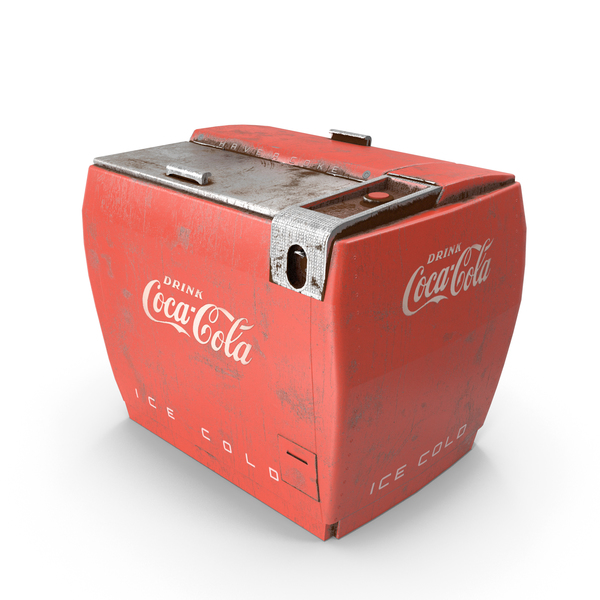 Coca-Cola Vintage Soda Machine Coke Cooler PNG & PSD Images