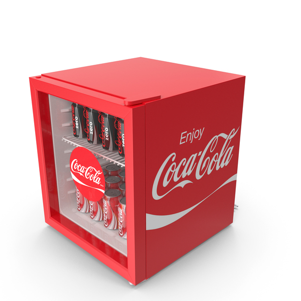 Coca Mini Fridge PNG & PSD Images