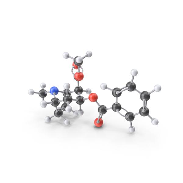 Cocaine Molecule PNG & PSD Images