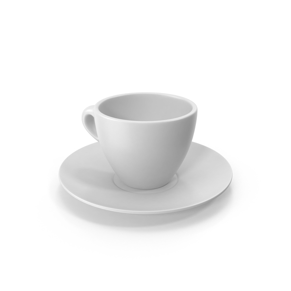 Coffee Cup and Saucer PNG & PSD Images