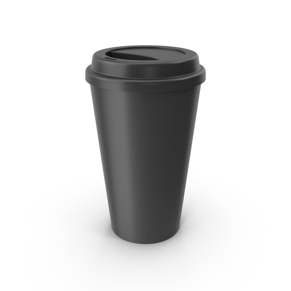 Coffee Cup Black PNG & PSD Images