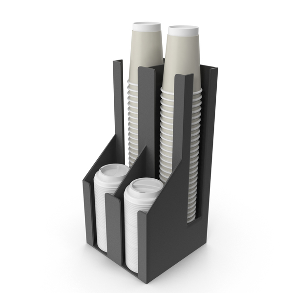 Paper: Coffee Cup Dispenser PNG & PSD Images