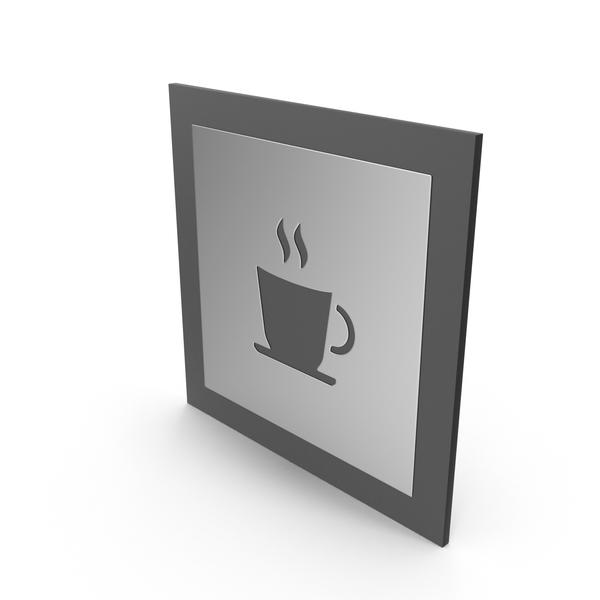 Coffee Cup Door Symbol PNG & PSD Images