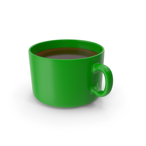 Coffee Cup Green PNG & PSD Images