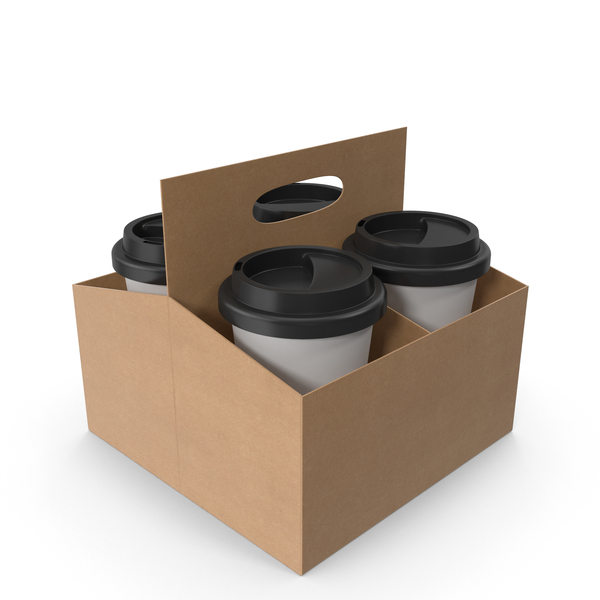 Paper: Coffee Cup Holder PNG & PSD Images