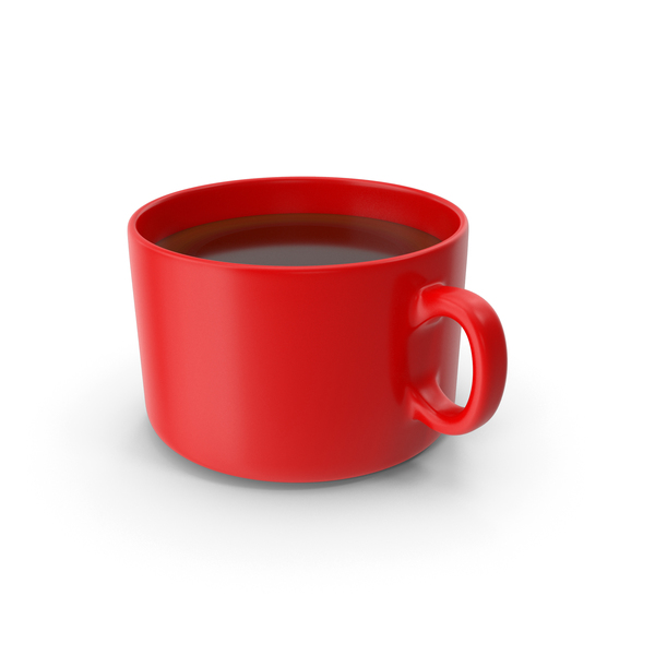 Coffee Cup Red PNG & PSD Images