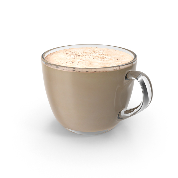 Coffee Cup Small Glass With Milk PNG & PSD Images