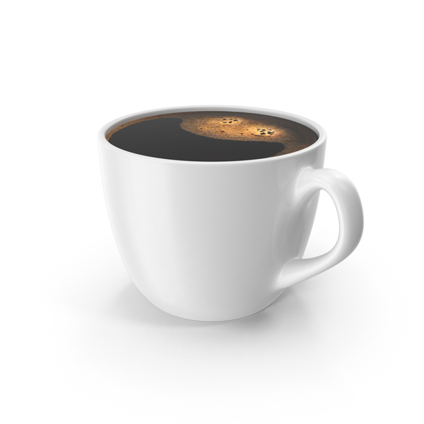 Coffee Cup Small White PNG & PSD Images