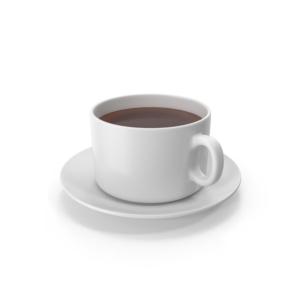 Teacup: Coffee Cup With Plate PNG & PSD Images