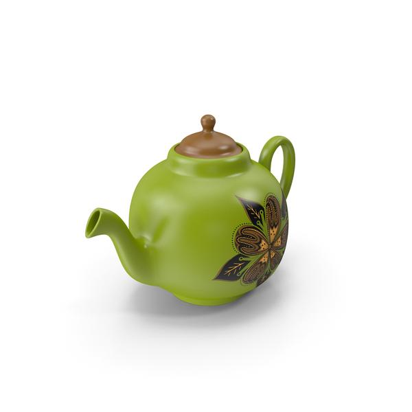 Tea Set: Coffee Pot PNG & PSD Images