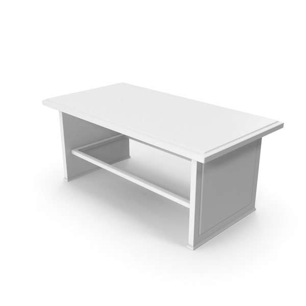 Coffee Table White PNG & PSD Images