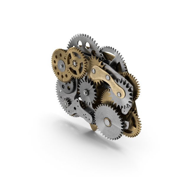 Cog Gears Mechanism Mixed PNG & PSD Images
