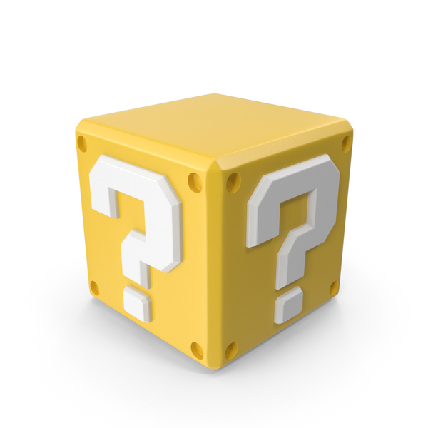 Game Character: Coin Block PNG & PSD Images