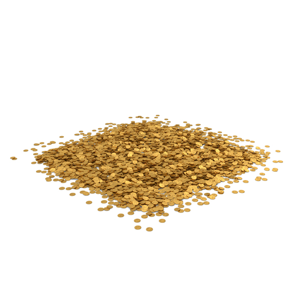 Coin Heap Gold PNG & PSD Images