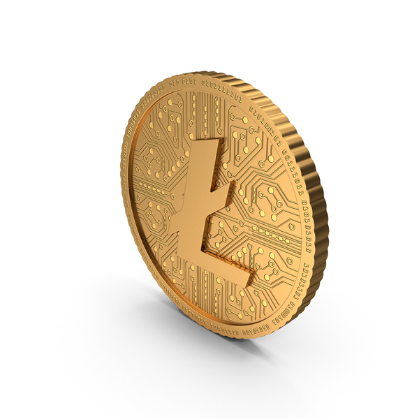 Coin Litecoin New PNG & PSD Images