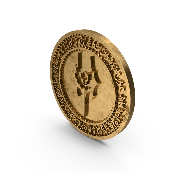 Coin LOK Kain Dirty Gold PNG & PSD Images