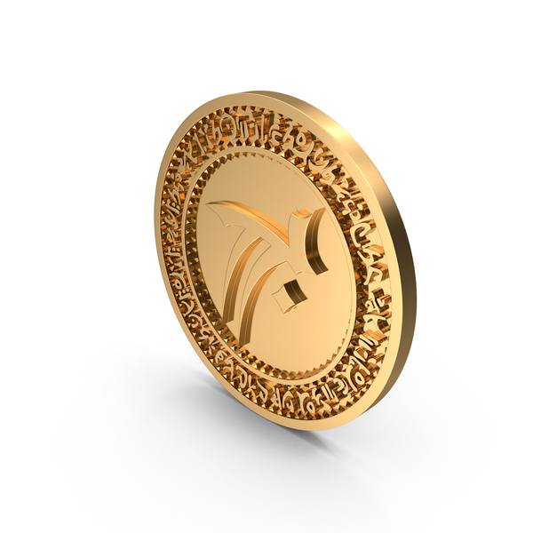 Coin LOK Zephon Gold PNG & PSD Images