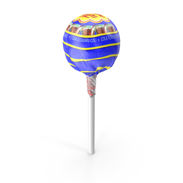 Cola Chupa Chups Wrapped PNG & PSD Images