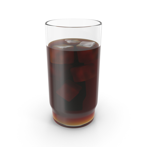 Soda: Cola With Ice PNG & PSD Images